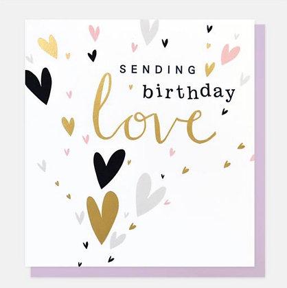 Card - sending Birthday Love
