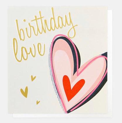 Card - Birthday Love