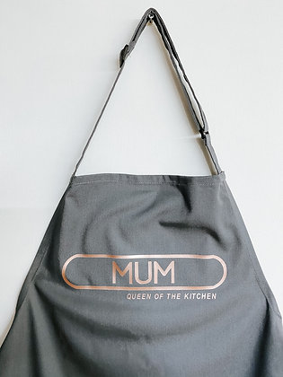 Mum queen of the kitchen apron