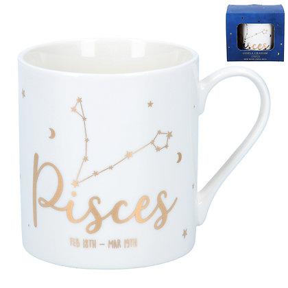 Star Sign Ceramic Mug - Pisces