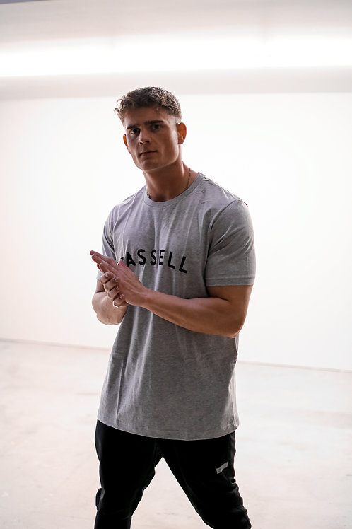 Cassell lifestyle t shirt 2.0 grey