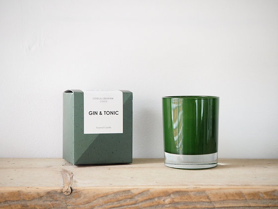 Gisela Graham Scented Candle - Gin & Tonic
