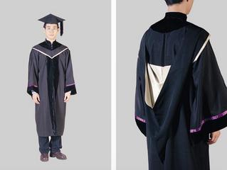 Academic Dress CUHK Master's Degree 香港中文大學碩士畢業袍