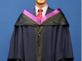 Academic Dress PolyU Master's Degree 香港理工大學碩士畢業袍