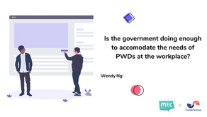 Is the government doing enough to accommodate the needs of PWDs at the workplace?