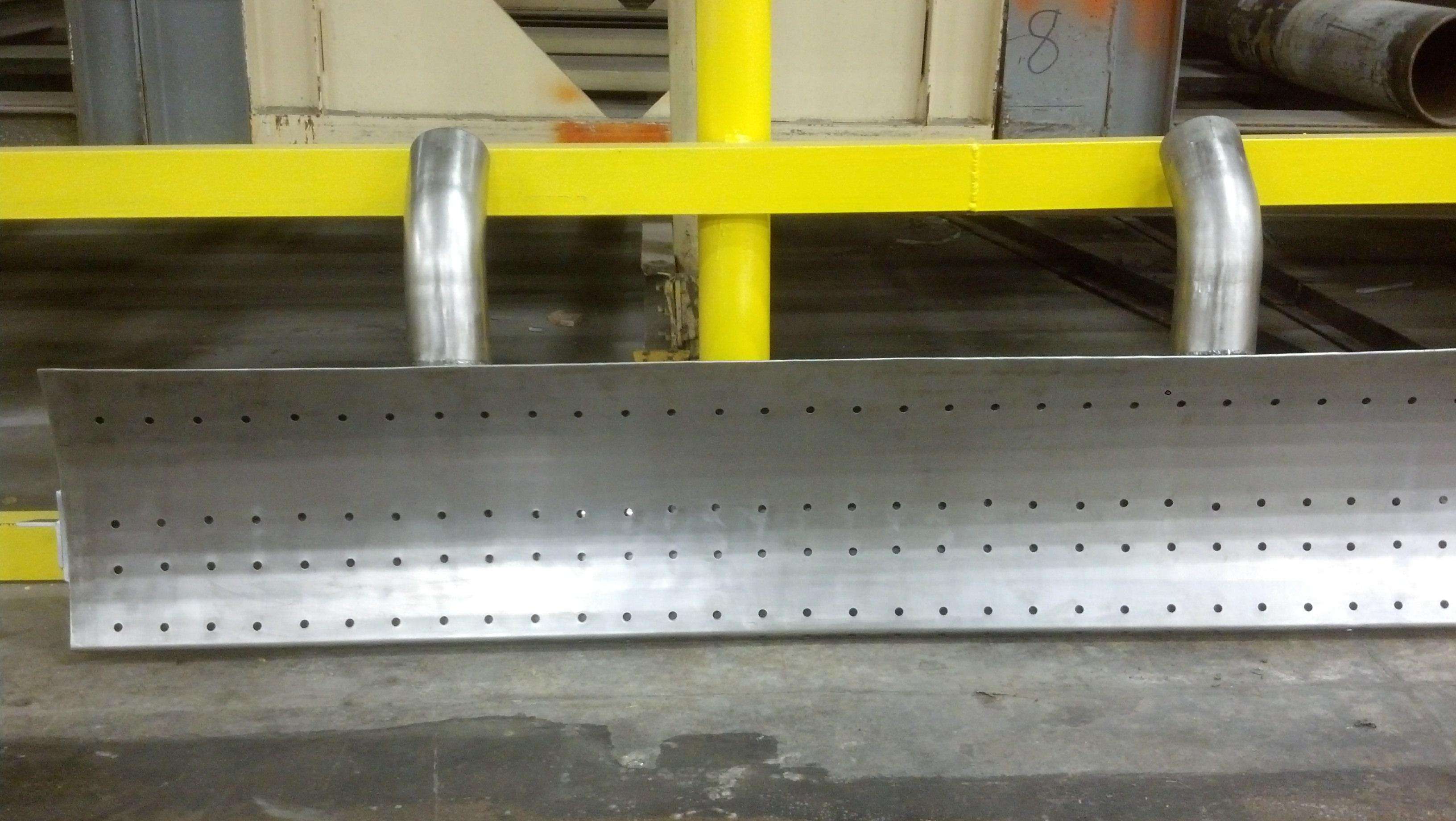 Custom Stainless Steel Exhaust Hood