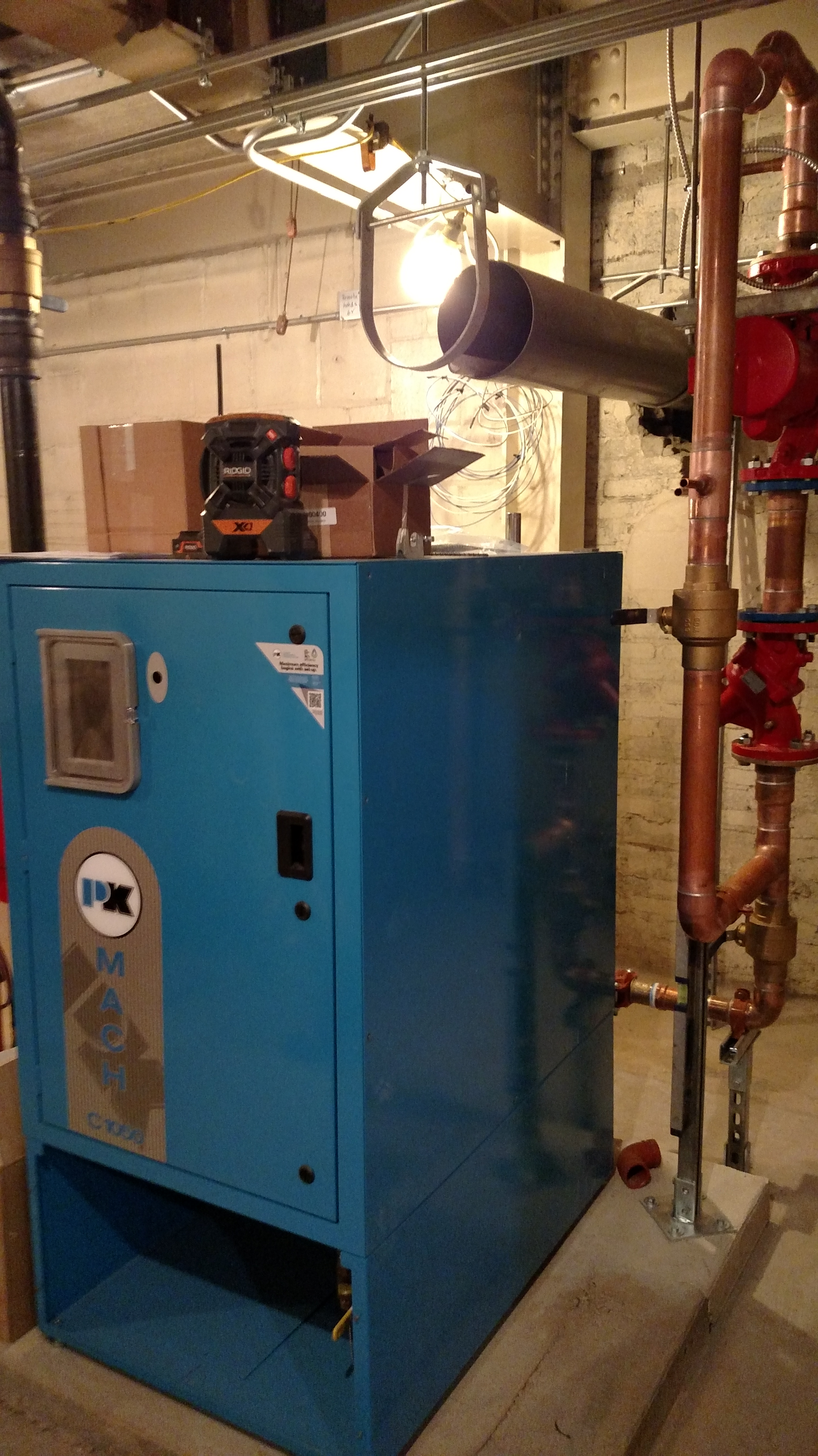 patterson-kelly boiler - stroudsburg