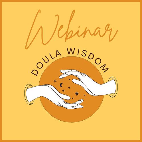 Doula Wisdom Webinar