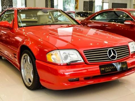 Mercedes Benz - SL 55 1999