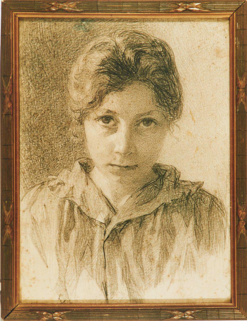Autoportrait de Jeanne Malivel