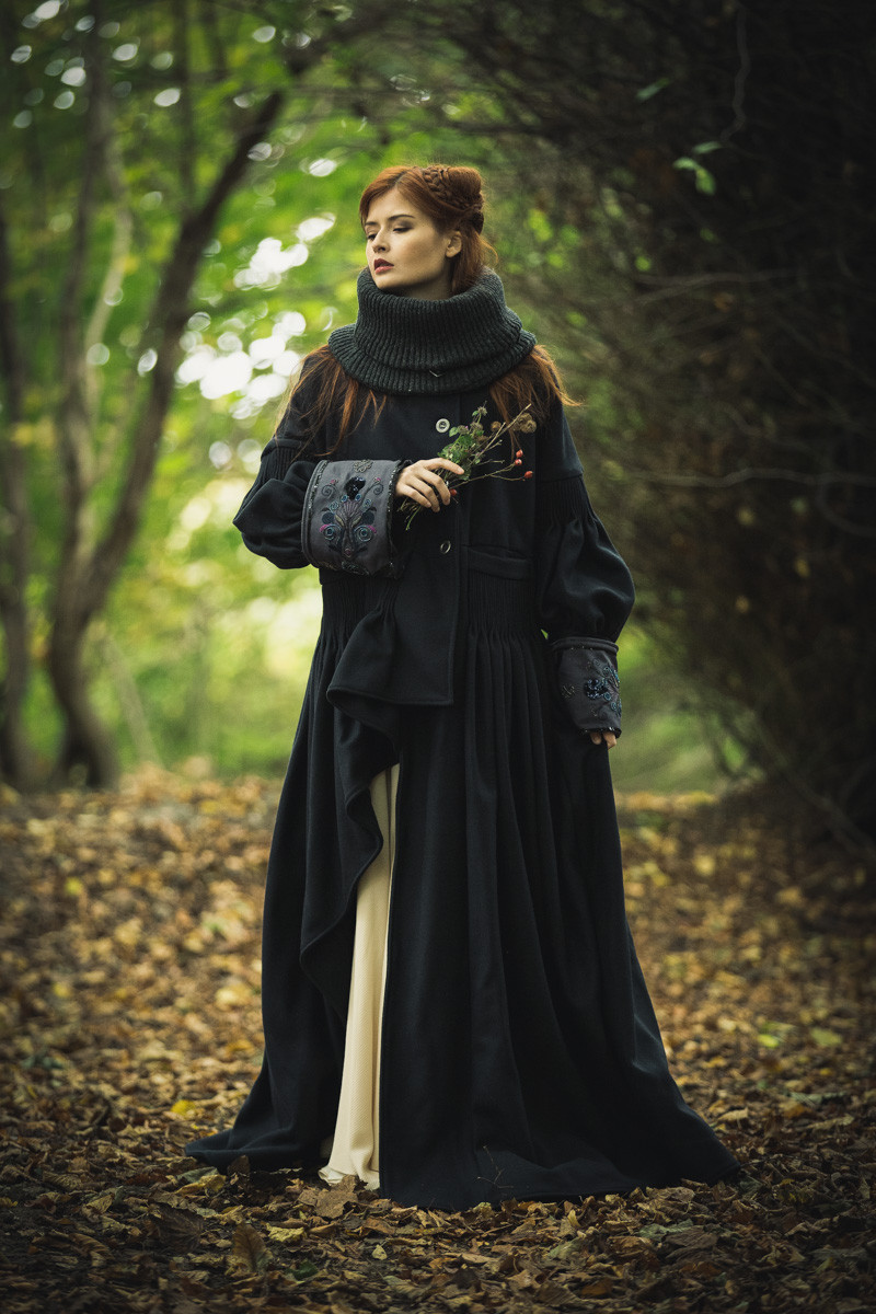 Coat by Nolwenn Faligot from Breton Wave Collection