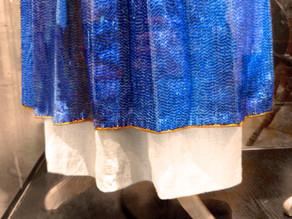 AN AOUR GLAZ – BLUE GOLD, LINEN AND BRETON FIBRE