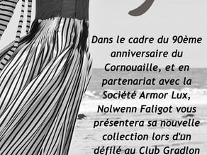 Armor Lux partenaire de la collection de Nolwenn Faligot