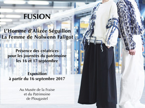 'FUSION' collection exhibited at the museum