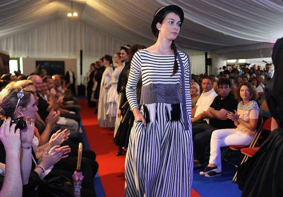 Breton Wave fashion show Nolwenn Faligot