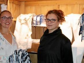 Nolwenn Faligot et Alizée Séguillon au musée