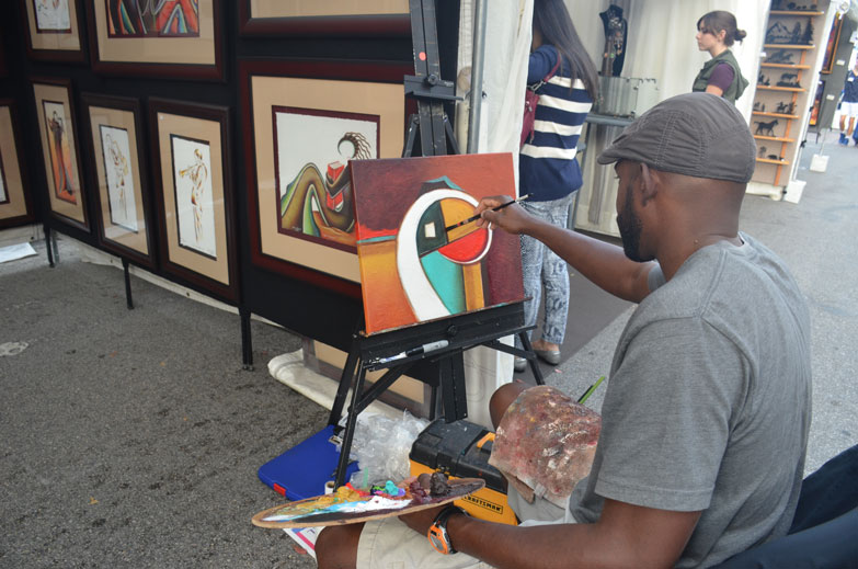 The South Miami Rotary Art Festival
