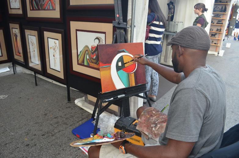 The South Miami Rotary Art Festival
