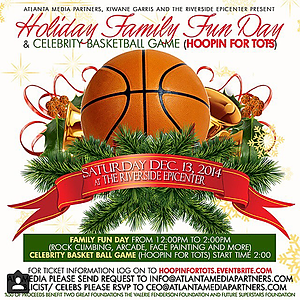 Hoopin' 4 Tots Celebrity Basketball Game