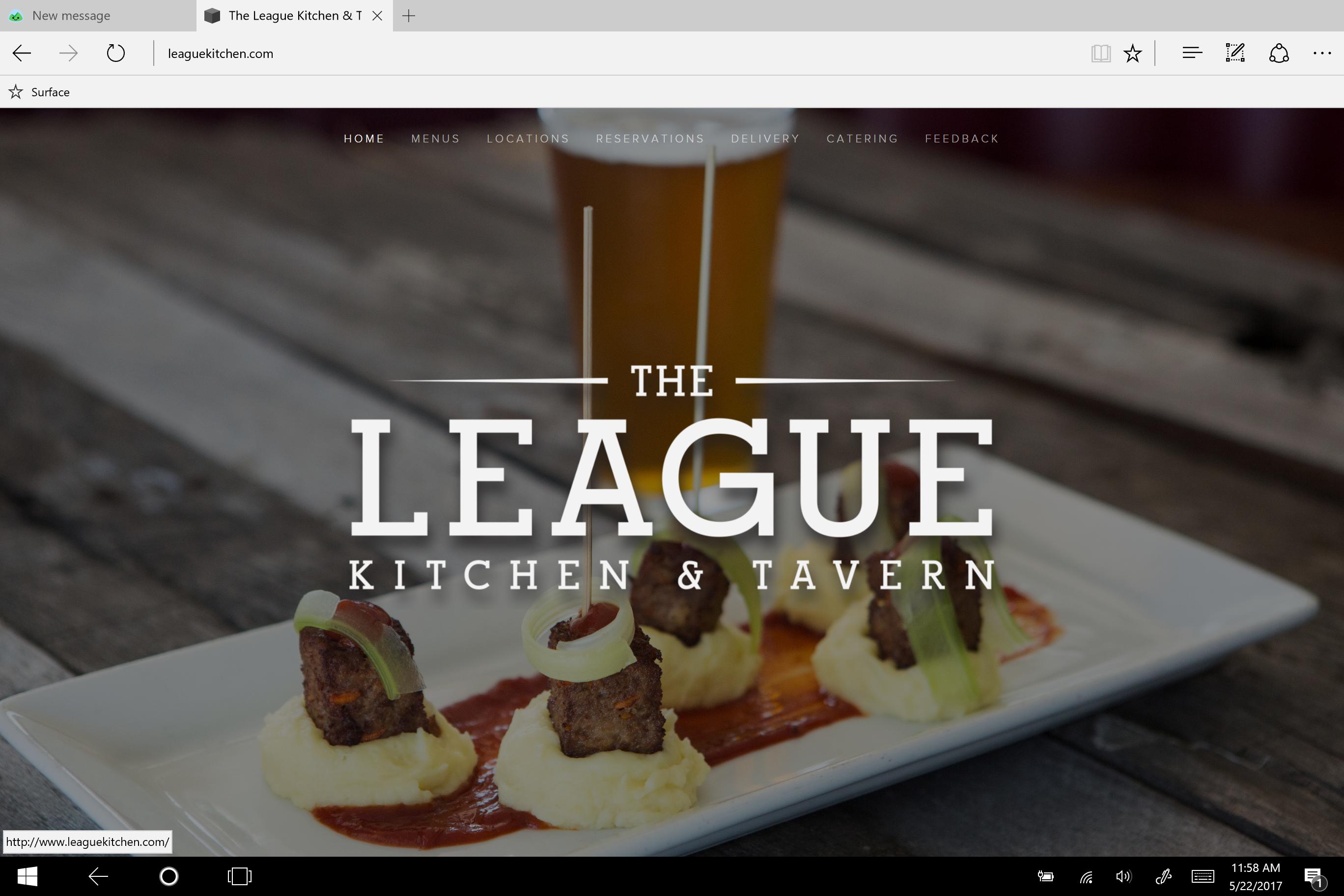 League Kitchen