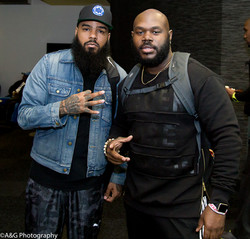 Players Stalley and D'vante Black