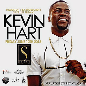 """Kevin Hart """"What Now"""" Official Party"""