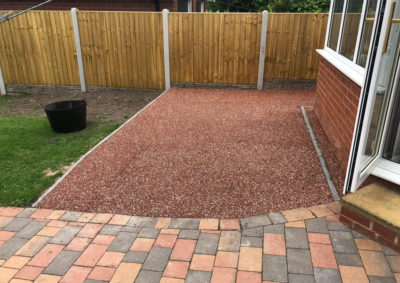 Resin Patio