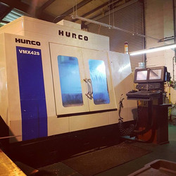 Hurco VMX42s! Ready for the day ahead! What's everyone got planned for their machines today___#preci