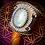 Thumbnail: Bracelet artisanal en cuir et Pierre de lune