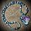 Thumbnail: Collier artisanal pendentif de Nacre, perles pierres naturelles variées