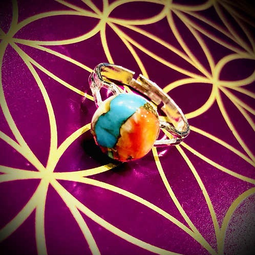 Bague Turquoise Mohave Oyster