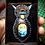 Thumbnail: Collier Labradorite double cordon cuir