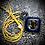 Thumbnail: Collier artisanal en cuir et PERISTERITE