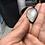 Thumbnail: Collier artisanal en cuir et Obsidienne argentée