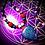 Thumbnail: Collier artisanal pendentif Rubis Kyanite, perles pierres naturelles variées