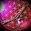 Thumbnail: Bracelet Améthyste cordon cuir tressé