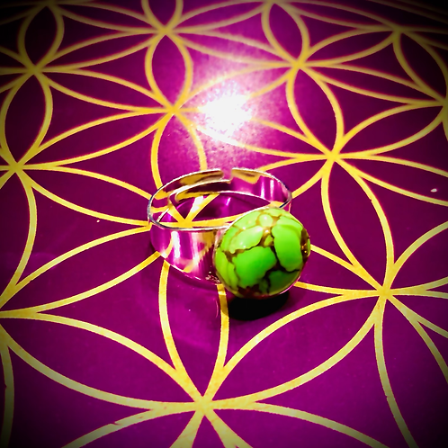 Bague Turquoise Mohave Green