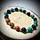 Thumbnail: Bracelet artisanal en perles de pierres naturelles semi précieuses