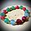 Thumbnail: Bracelet artisanal perles semi précieuses