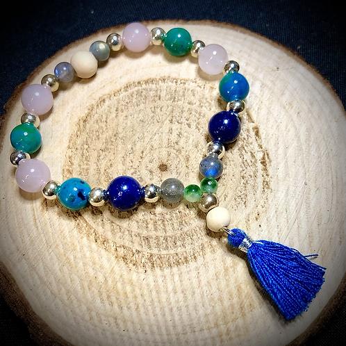 Bracelet artisanal inspiration tibétaine