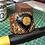 Thumbnail: Bracelet artisanal en cuir et JASPE MARIAM
