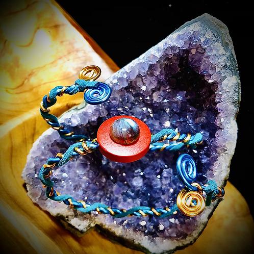 Bracelet indéformable pierre Labradorite