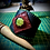 Thumbnail:  Bracelet artisanal en cuir et Serpentine