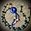 Thumbnail: Collier «Mala ethnique» pendentif Lapis lazuli, pierres naturelles variées