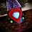 Thumbnail: Bracelet manchette en cuir, Pierre de lune, labradorites, et Turquoises Mohave