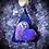 """Thumbnail: Collier """"coeur """" de mohave purple  turquoise"""