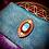 Thumbnail: Pochette artisanale «tabac a rouler» cuir/ agate