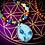 Thumbnail: Collier «mala ethnique» pendentif Shattuckite, perles variées