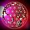 Thumbnail: Collier artisanal pendentif Jaspe Picasso, perles pierres naturelles variées