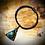 Thumbnail: Bracelet artisanal en cuir, bois, Pietersite
